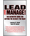 Lead and Manage