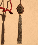 Christmas Tree Tassle Ornament