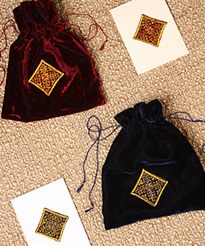 Afghan Velvet Card Set