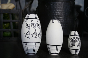 Warli Vase Set