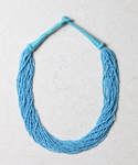 5000 Bead Necklace - Turquoise