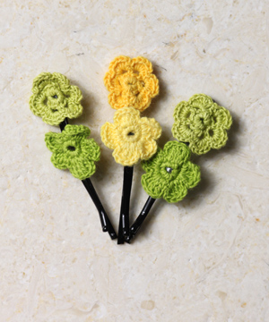 Citrus Blossoms Hair Pins