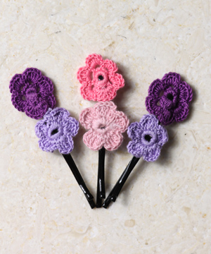 Pretty in Purple Hair Pins