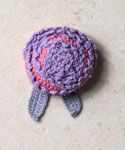 Lavender Bud Brooch