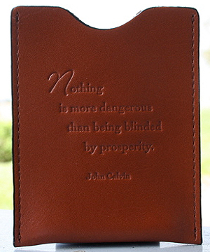 Prosperity Money Clip In Brown