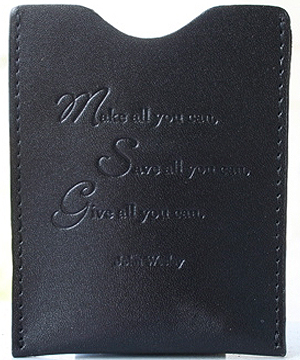 Make All You Can Money Clip In Black