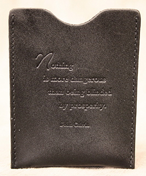 Prosperity Money Clip In Black