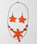 Vintage Orange Flower