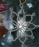 Seed Bead Ornament
