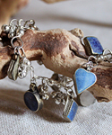Lapis Charm Bracelet