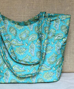 Large Paisley Handbag