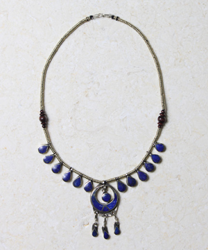 Lapis Dangled Necklace