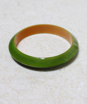 Green Resin Bracelet