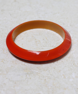 Red Resin Bracelet