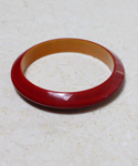 Ruby Red Resin Bracelet
