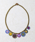 Crochet Circle Necklace