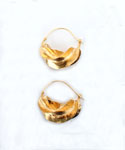 Fulani Goldtone Hoop Earrings