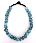 Chunky Turquoise-Color Necklace