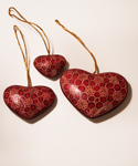 Wooden Heart Ornaments 2