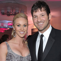 Candice and Tony Romo