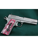 Pink Pearl Poly 1911 Full Size Grips