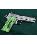 Zombie Green Pearl 1911 Full Size Grips