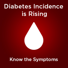 Diabetes Incidence is Rising - Know the Symptoms