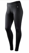 Smartwool Next To Skin Women's Mid Weight Base Layer Bottoms Black