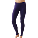 Smartwool Next To Skin Women's Mid Weight Base Layer Bottoms Imperial Purple Heather