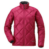 mont-bell Alpine Light Down Jacket Women's Cherry Red