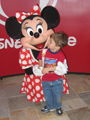 Z looking at Minnie