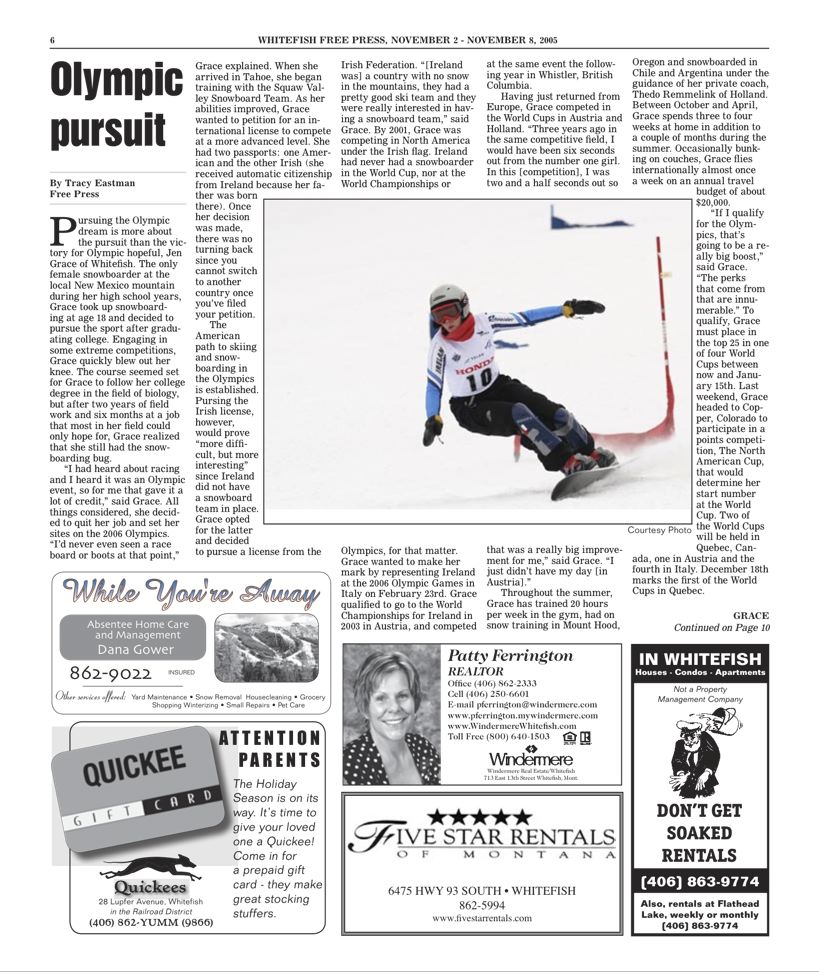 Whitefish Free Press 11/02/05