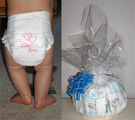personalized diapers