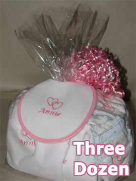Personalized Diapers Gift Set -3