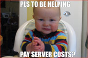 Please donate to support lolbabies baby kid and child image macros!
