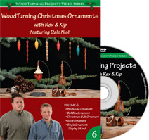 Woodturning Christmas Ornaments with Rex and Kip - DVD Volume 6