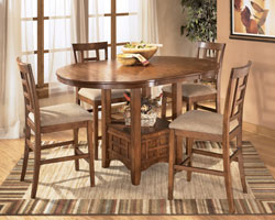 "Rent Furniture Ashley ""Cross Island"" Dining Room Set 