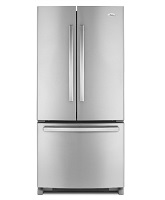 WhirlpoolZ-22-Cu-Ft-Bottom-Mount-Refrigerator-with-French-Doors-Stainless-Steel