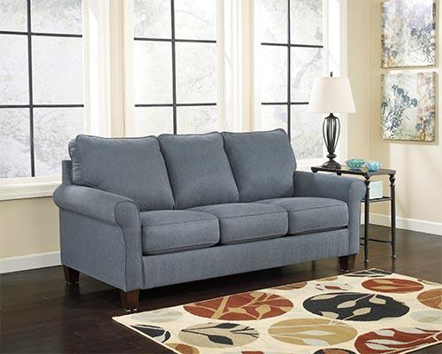 Ashley Zeth Denim Sleeper Sofa