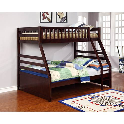 Powell franklin twin full bunk bed set for Best furniture rental store