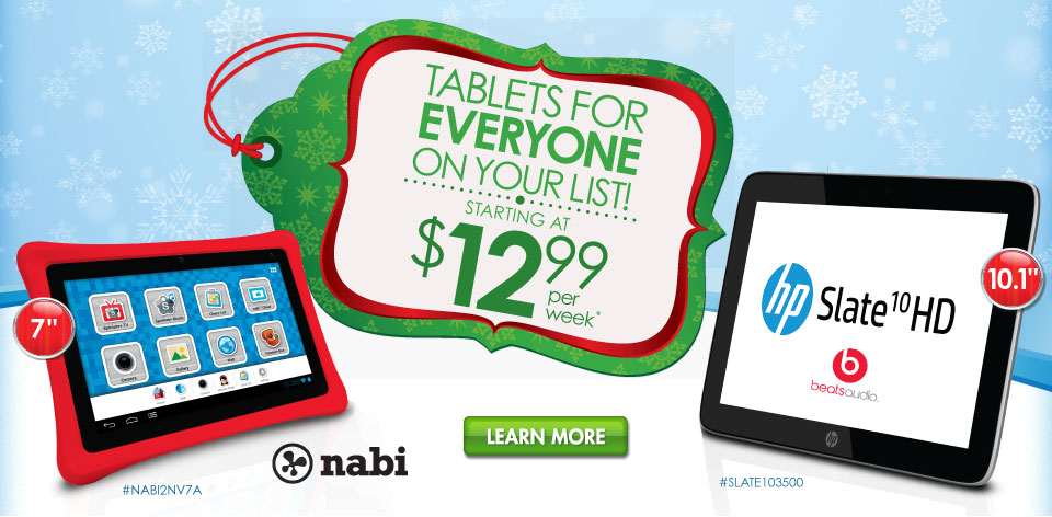 Tablets for Everyone On Your List!
