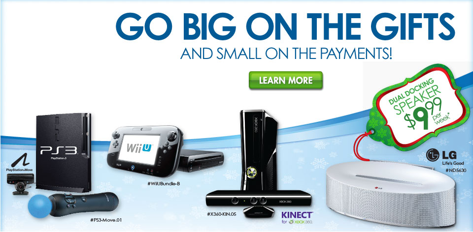 Go Big on the Gifts and Small on the Payments!