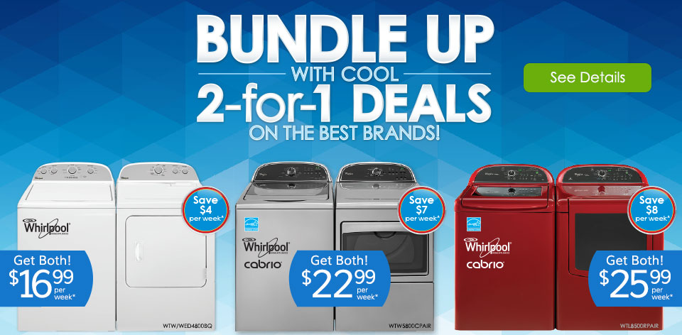 Bundle Up with Cool 2-for-1 Deals on the Best Brands! See Details