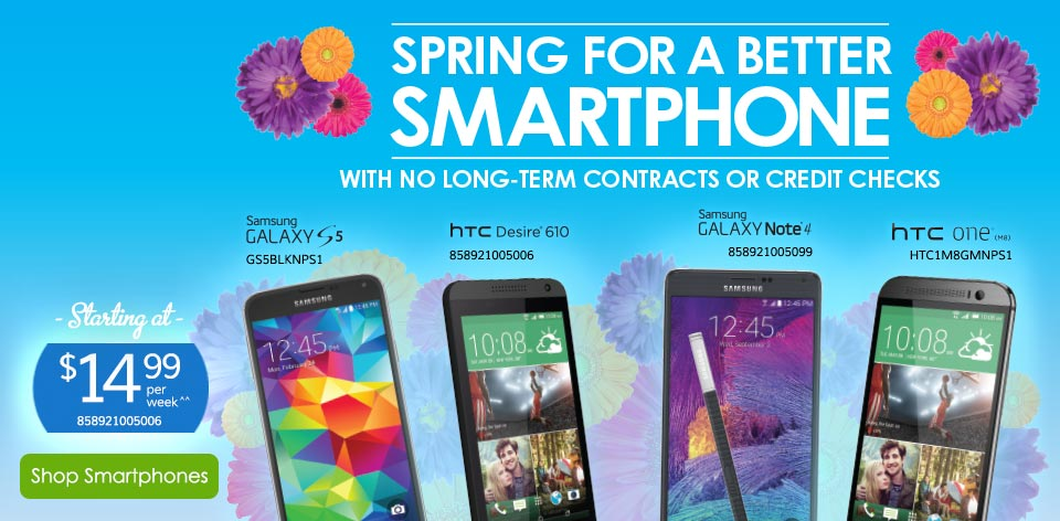 Spring for a Better Smartphone - Shop Smartphones