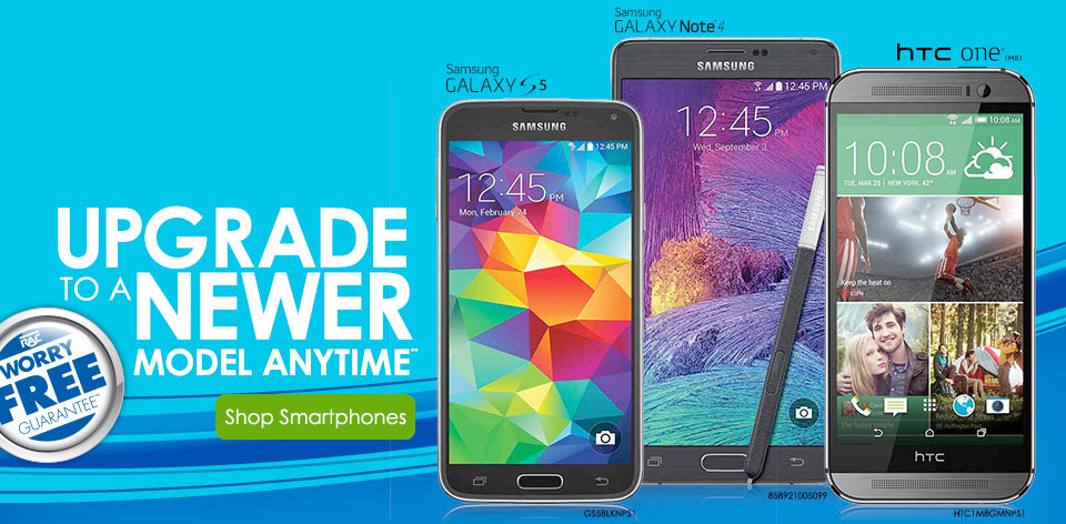 Upgrade to a newer model anytime**! Shop Smartphones