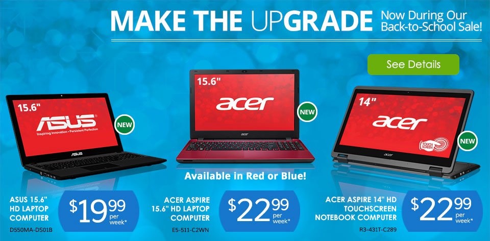 Make The Upgrade - With These Computers - See Details