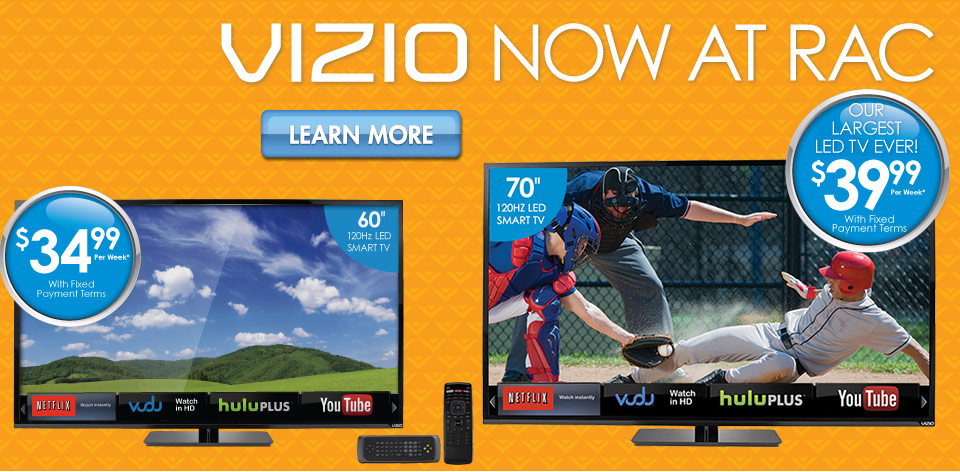 Vizio Now at RAC
