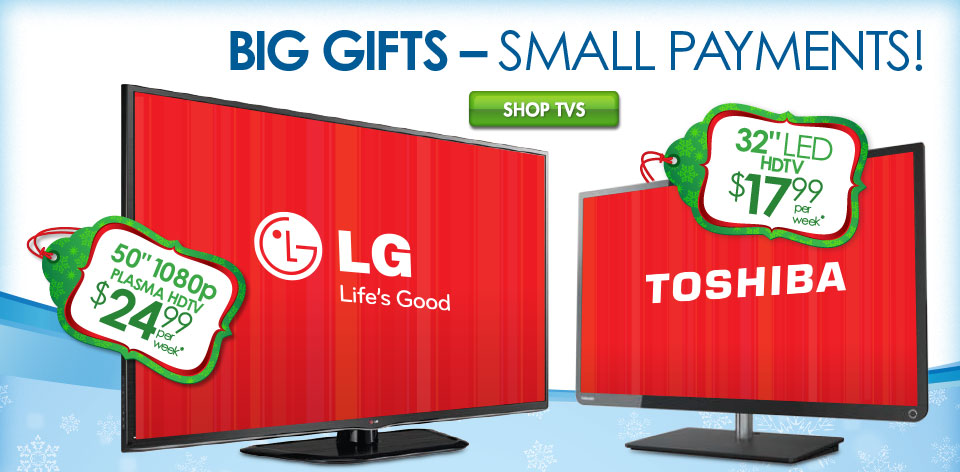 Big Gifts - Small Payments!