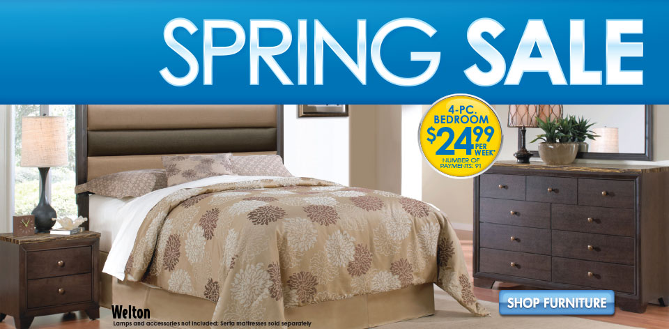 Spring Sale Bedroom Sets