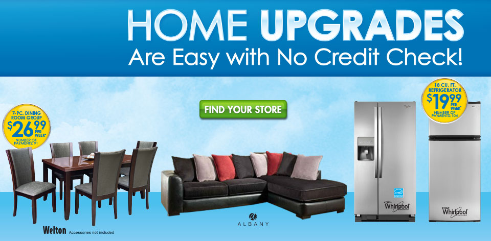 Home Upgrades Are Easy - With No Credit Check!